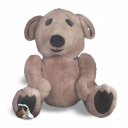 Store: Talking Ted E Bare Puppet  30cm